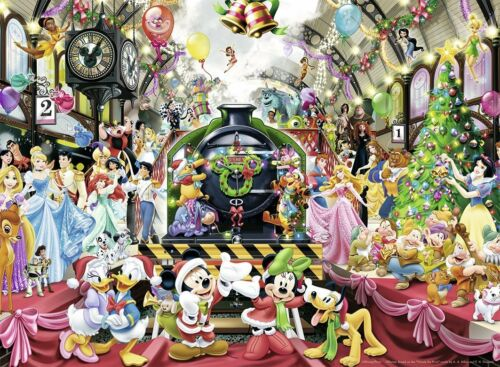 57504 Disney Weihnachts-Zug Puzzle Ravensburger 500 Teile