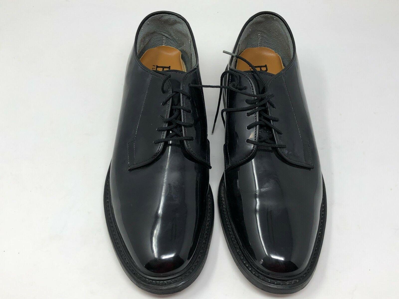 Bates floataways MENS LEATHER UNIFORM OXFORD shoes size 11D ZZ286