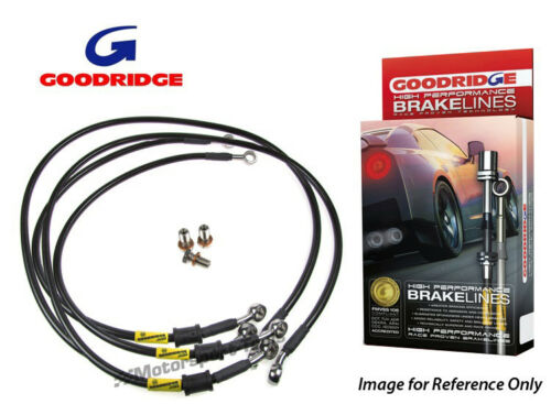 Goodridge For Rover P5 Braided Brake Kit Lines Hoses