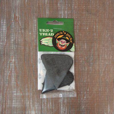 3.8mm Felt Ukulele // Autoharp Pick Mick/'s Picks UKE2 Set of 3 Made in USA