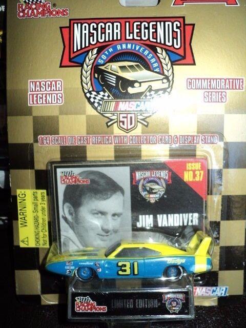 Racing Champions 1 64 NASCAR LEGENDS Issue Dodge JIM VANDIVER VANDIVER VANDIVER 984dc8