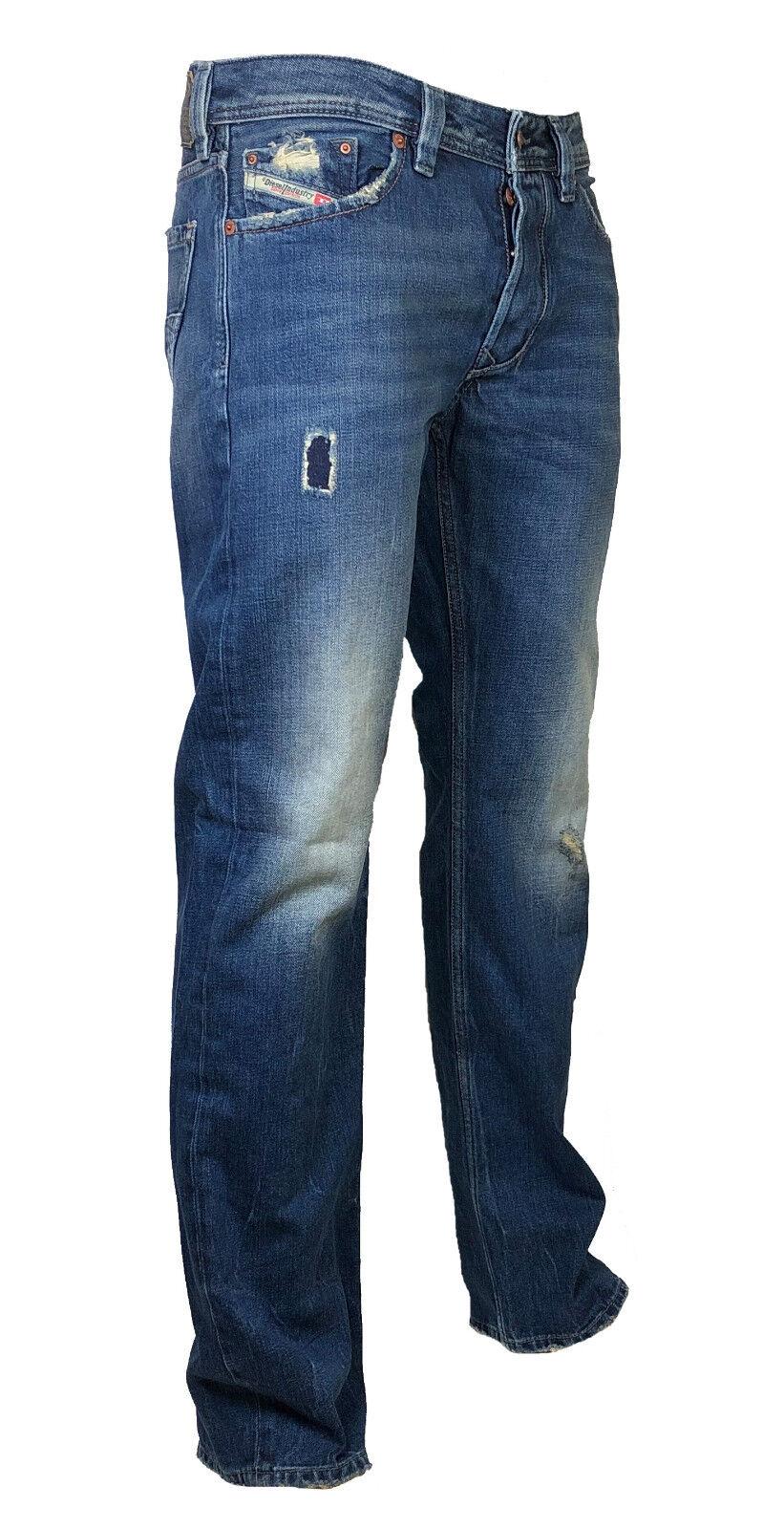 Diesel Jeans LARKEE R5W88 dunkelblue verwaschen  used look   29 32 NEU