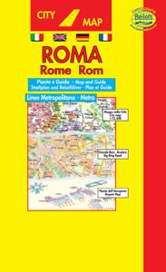 Cartina Citta Roma.Roma Mini Pianta Citta Scala 1 12 500 Cartina Carta Mappa Belletti Ebay