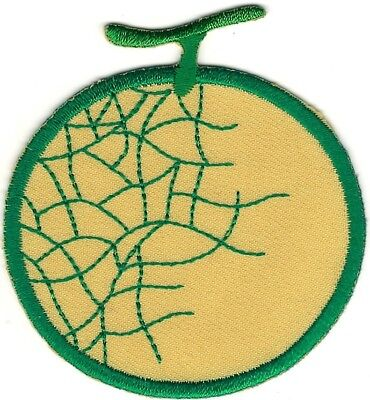 "2.75/"" Denim Jean Melon Fruit Embroidery Applique Patch"