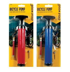 "Football Pump Bike Bicycle Soccer Rugby Ball Pump Inflating Adaptor Needle 12/"""