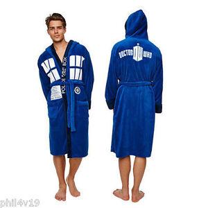 Doctor Dr Who Tardis Adult Unisex Dressing gown / bathrobe / robe ...