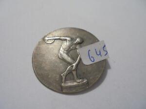 Freundlich 23645 Plakette,medaille.diskuswerfen Um 1920 33mm Olympiade & Sport