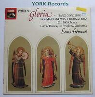 ASD 3299 - POULENC - Gloria / Piano Concerto FREMAUX CoBSO - Ex Con LP Record