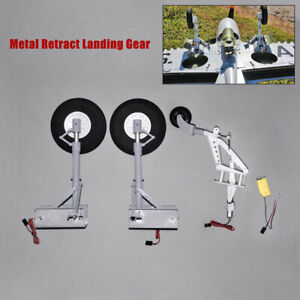Metal-Retract-Landing-Gear-with-Controller-for-2-metre-wingspan-P40-RC-Airplane