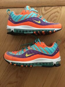 size 40 2352d dbe00 Image is loading NIKE-AIR-MAX-98-QS-034-Cone-034-