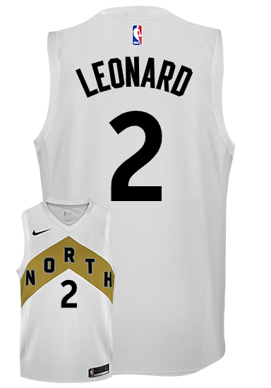 726be1eb164 Raptors Men s Swingman OVO City Edition White Kawhi Leonard Jersey Small NBA