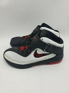 Nike-Air-Max-Soldier-V-Basketball-Shoes-Lebron-James-454131-101-White-Size-10