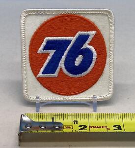 Vintage Union 76 Logo Oil & Gas Stitched Patch NASCAR Uniform Petroliana