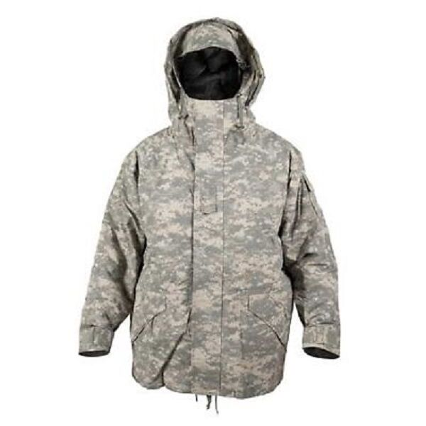 US ECWCS Parka Army UCP ACU at Digital Moisture Predection Cold Wet Weather