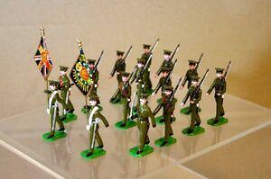 Ducal Soldats Royale Régiment Gallois Couleur Parti De