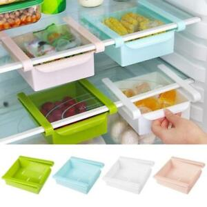 Slide-Kitchen-Fridge-Freezer-Space-Saver-Organizer-Storage-Rack-Shelf-Holder-Box