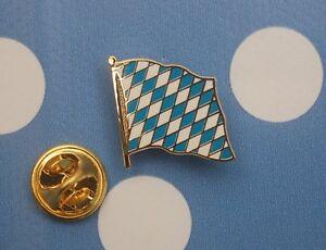 Bayern-Raute-Rauten-Pin-Button-Badge-Anstecker-Flaggenpin-Anstecknadel-Sticker