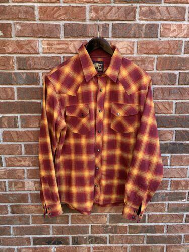 Indigofera Dawson Rust Flannel Size Medium (Fits L