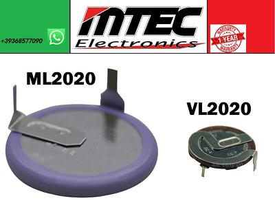 Panasonic VL2020 Batteria Ricaricabile per BMW MINI TELECOMANDO NO DURACELL