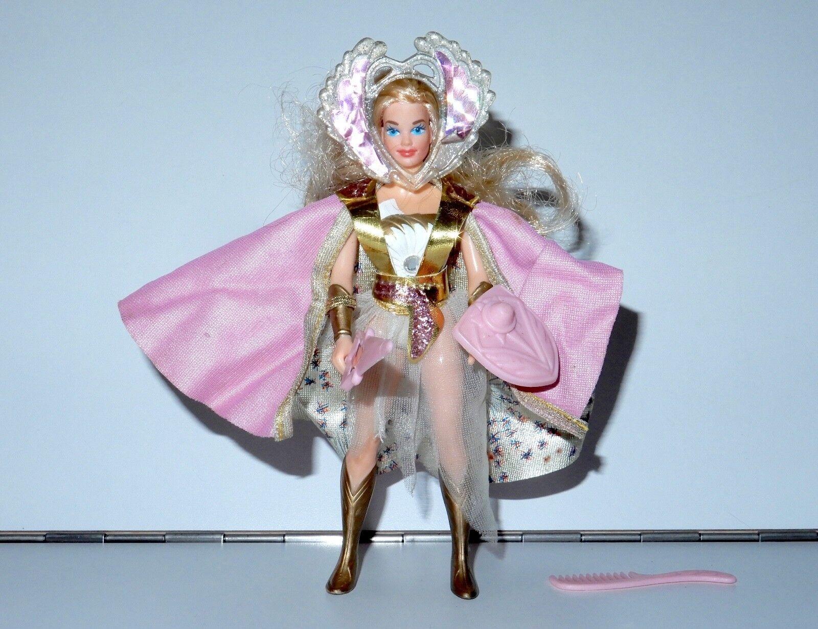 PRINCESS OF POWER SHE-RA STARBURST SHE-RA 100% COMPLETE 1986 MATTEL MOTU