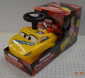 Kiddieland Disney Pixar Cars 3 Cruz Dinoco Yellow Racer Ride On