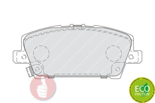 Scheibenbremse FDB1859 Vorderachse FERODO Premier Bremsbelagsatz