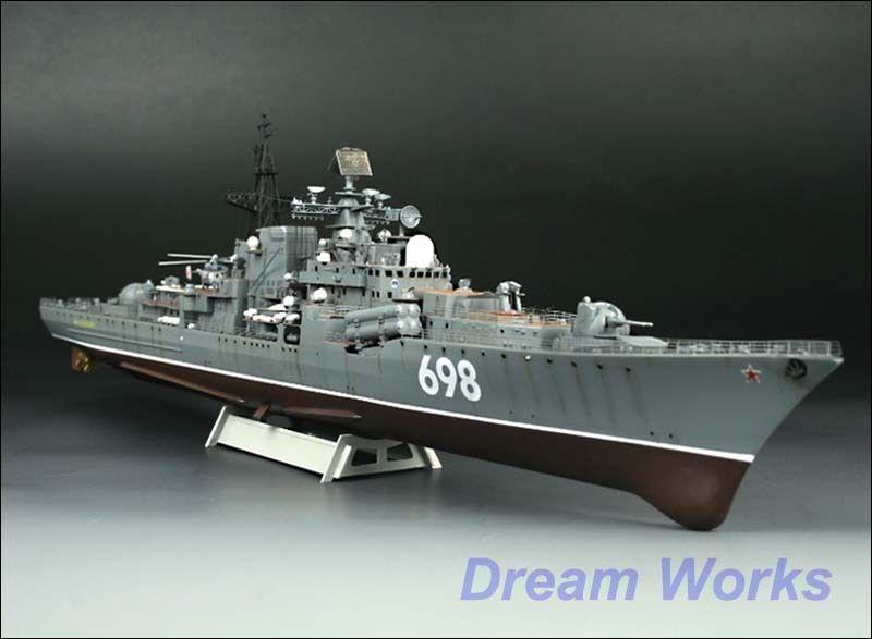 Award Winner Built TRUMPETER 1 350 Sovremenny Class Class Class Destroyer +PE 7e4