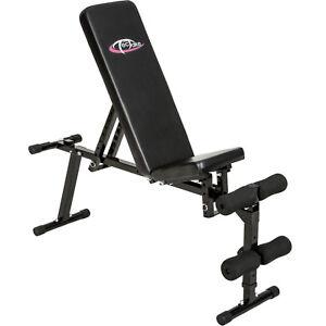 Banco de pesas musculación entrenamiento gimnasio fitness abdominales abdomen