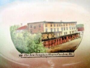 Vtg-Caribou-Maine-The-New-Vaughan-House-Bowl-Soap-German-for-Byron-Noyes-HTF