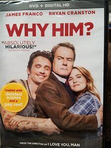 Why Him (DVD, 2017)