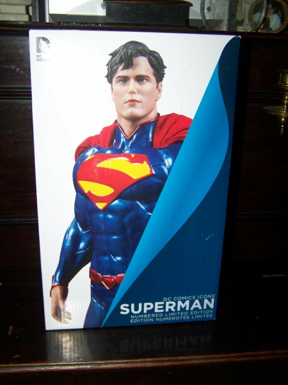 DC Icons SUPERMAN  Limited Limited Limited Edition Figure new ced4dc