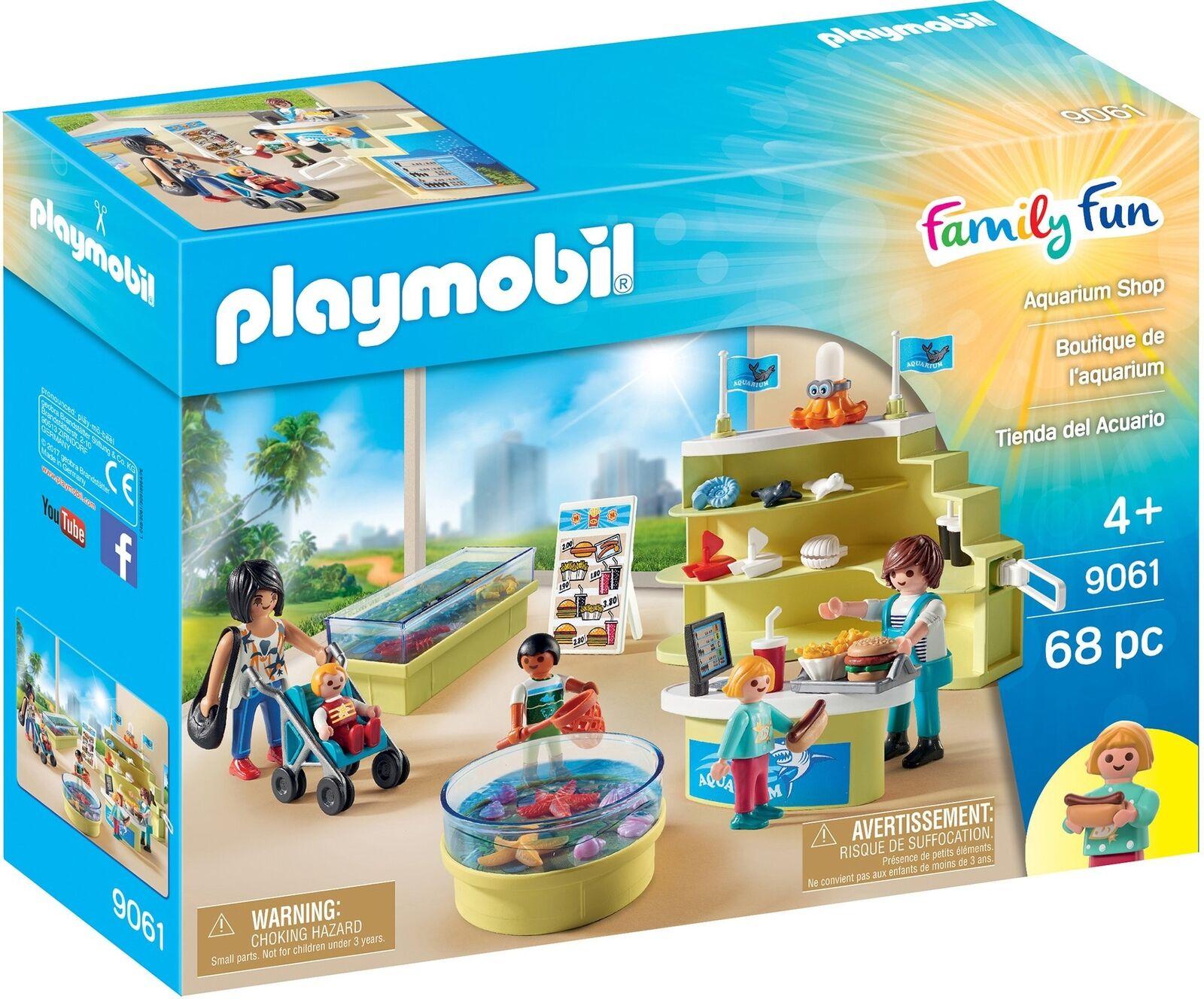 Playmobil 9061 Family Fun Aquarium Aquarium Aquarium Shop 7d27aa