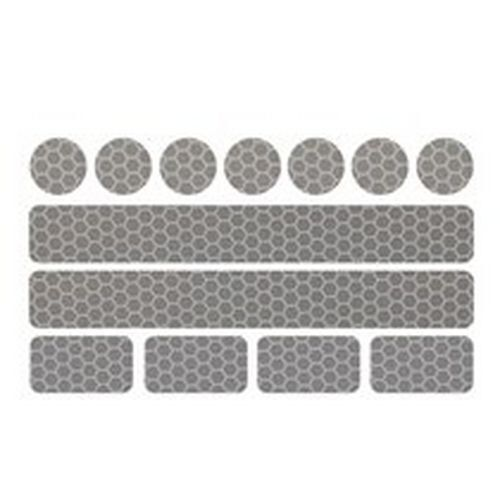 Pushchairs Reflective 13pcs Stickers Safety Sticker For Stroller Bicycle Helmets