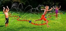BANZAI~KIDS WET N WILD ACTION~HUGE~12 FT BACKYARD~WATER SPRINKLER WIGGLIN FUN