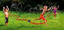 BANZAI~KIDS WET N WILD ACTION~HUGE~12 FT BACKYARD~WATER SPRINKLER WIGGLIN FUN