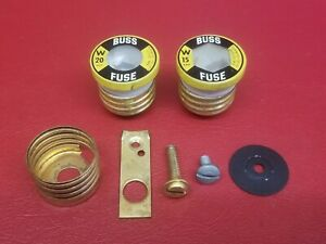 Cutler-Hammer Edison Base Fuse Socket Screw in Replacement Parts With Fuse    eBayeBay
