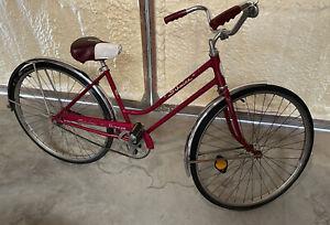 1972 Schwinn Breeze Coaster - All Original. Red Woman's Coaster Bike