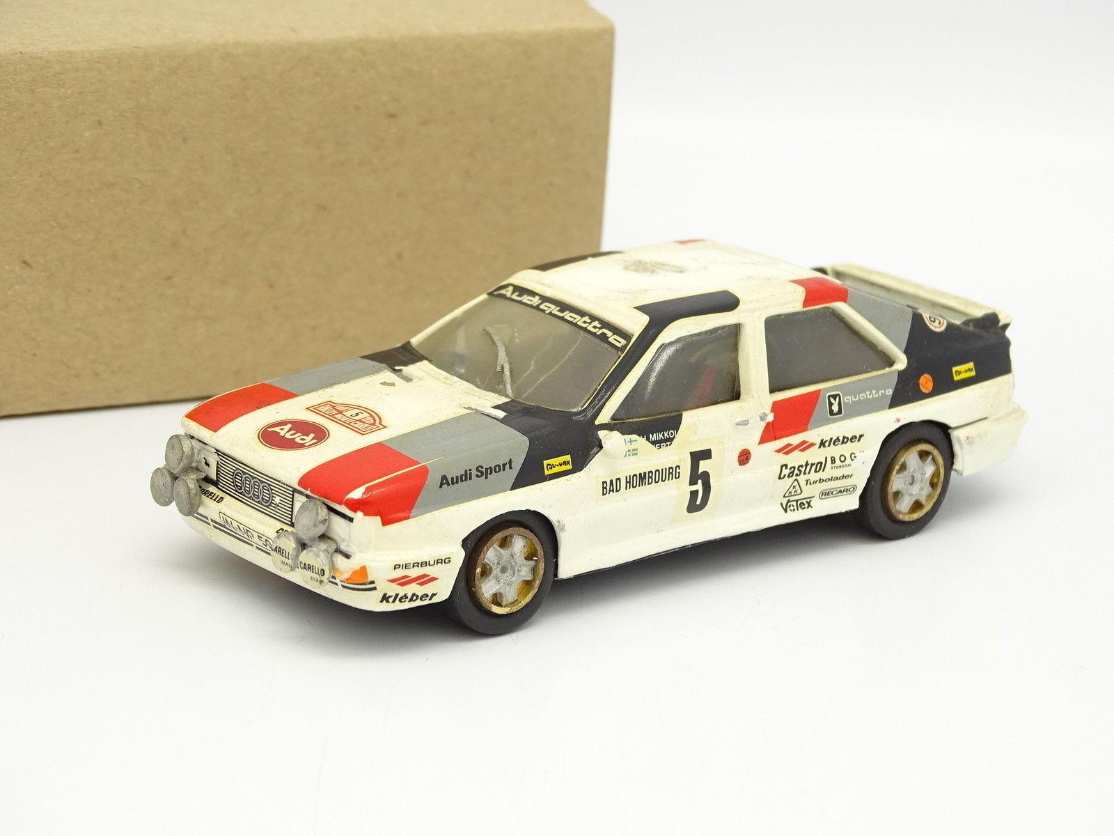 AMR Set aufgebaut aufgebaut aufgebaut Metall 1 43 - Audi Quattro Rallye Aufbau Carlo 1981 Nr.5 076763