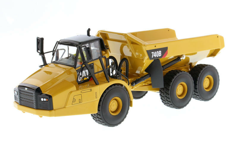varios tamaños DCM85501 DCM85501 DCM85501 - CATERPILLAR 740B accompagné d'une figurine et d'une boite en métal -  soporte minorista mayorista