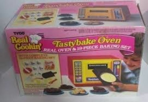 TYCO Real Cookin 1988 Tasty bake oven easy bake oven DISCONTINUED