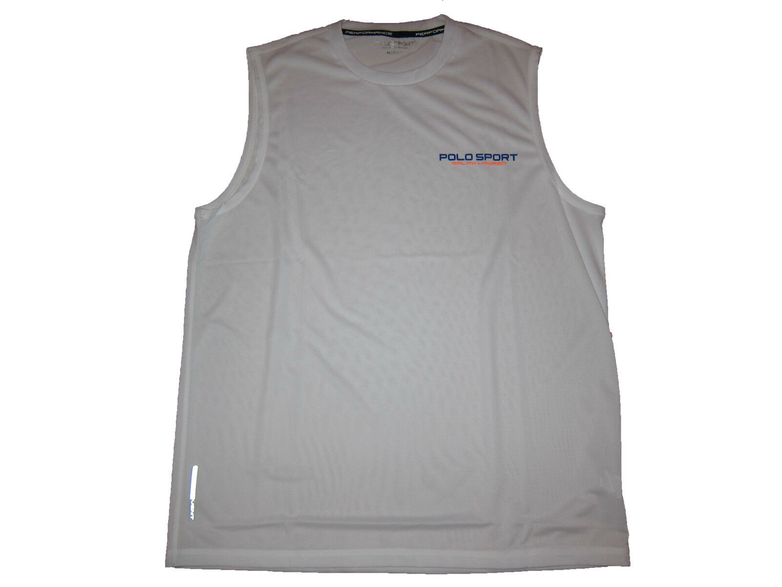 Polo Sport Ralph Lauren Weiß Athletic Cycle Active Sleeveless Gym Shirt XL