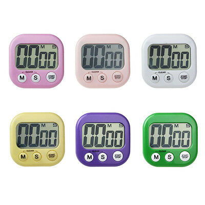 New Magnetic Kitchen Digital LCD Count Down Up Counter Timer Alarm Clock Special