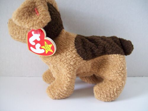 Ty Beanie Babies~4th Generation~Tuffy The Terrier~Good Heart Tag~E6