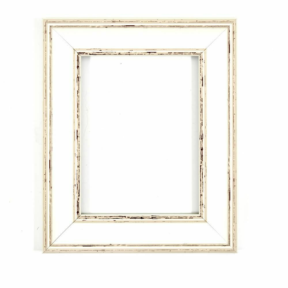 With an MDF backing board With a High Clarity Styrene Shatterproof Perspex Sheet-Black 20 x 16 Ready to hang Paintings Frames Shabby Chic Rustic//Wood Grain Picture//Photo frame