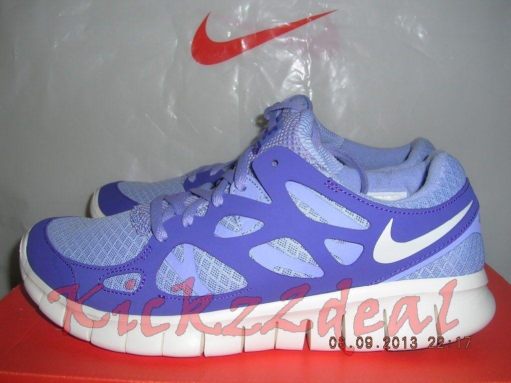 NEW WMNS NIKE FREE RUN+ 2 Running Shoes SZ 6 6.5 LIGHT THISTLE/PURPLE 443816-555