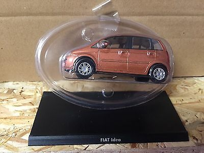 "Other Vehicles Die Cast "" Fiat Idea "" 1/43 Hachette Car Italian Bringing More Convenience To The People In Their Daily Life"