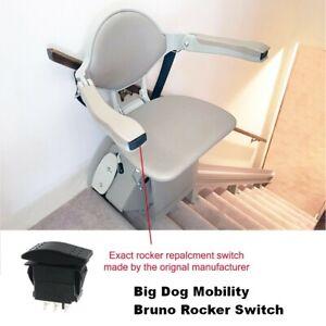 NEW Bruno Rocker Switch for Stair Lifts SRE-3000, SRE-2010, SRE-1550, SRE-2750