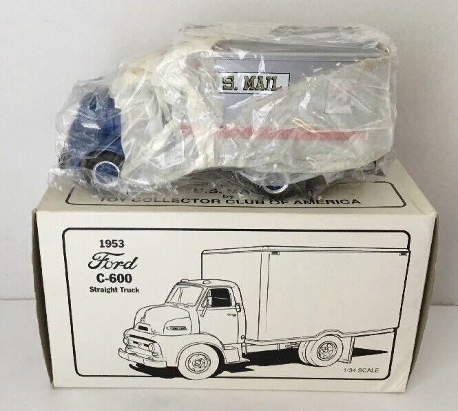 mejor vendido Precision Coleccionable Coleccionable Coleccionable 1953 Ford C-600 camión fundición vehículo Recta Escala 1 34  ahorra hasta un 30-50% de descuento