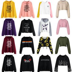 Women-O-Neck-Hoodie-Jumper-Long-Sleeve-Pattern-Printed-Sweatshirt-Pullover-Tops