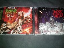 SEEKING OBSCURE S/T thrash death metal CD Lot ARCHAIC WINTER Banished Baphomet